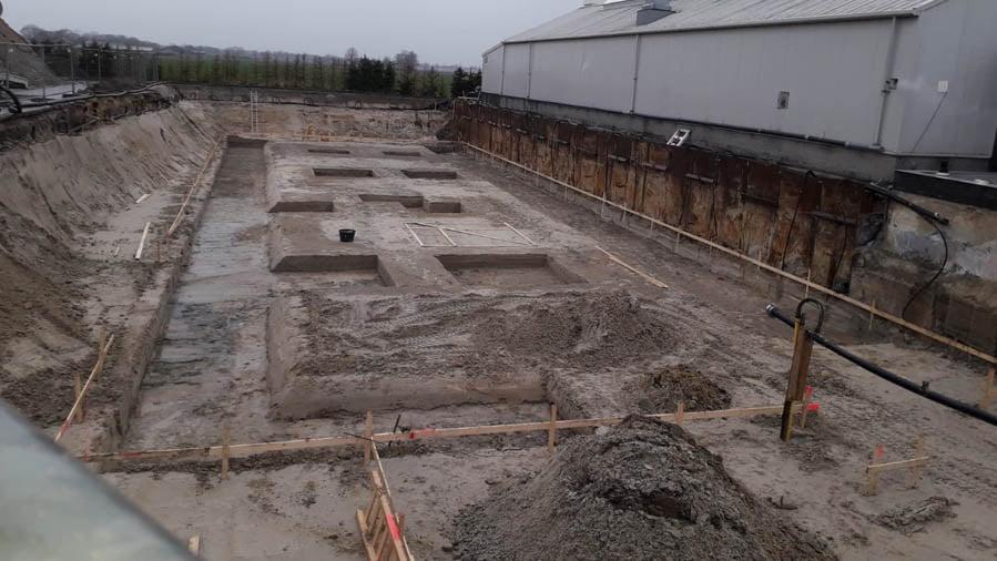 Kelder uitgraven Woonhuis Bedrijfspand Someren Heide Raijmakers Someren